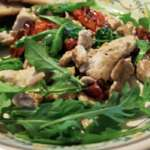 Piletina sa vrganjima, rukolom i parmezanom - Recepti i Kuvar online