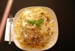 Špagete sa povrćem i piletinom - Ana Vuletić