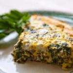 Fritata od malo masnog sira, sa graškom - Recepti i Kuvar online
