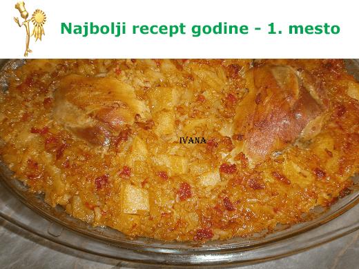 Đuveč sa batacima - najbolji recept 2014. godine - Ivana Pešić - Recepti i Kuvar online