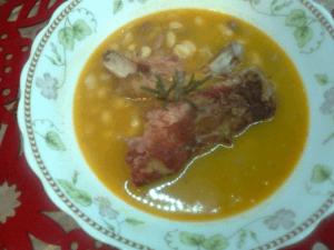 Čorbast pasulj sa suvim rebrima - Suzana Mitić - Recepti i Kuvar online